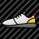 footgear, footwear, gardrobe, shoes, snackers, sports shoes icon