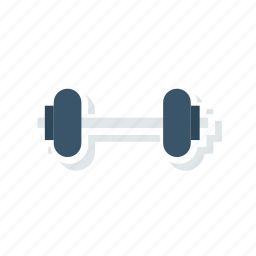 dumbbell, exercise, gym, weight icon