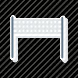 badminton, game, net, shuttlecock icon