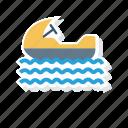 boat, sailingboat, ship, water