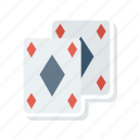cards, diamond, jack, poker icon