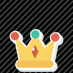 crown, grade, medal, prize icon