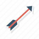 dart, game, goal, target icon