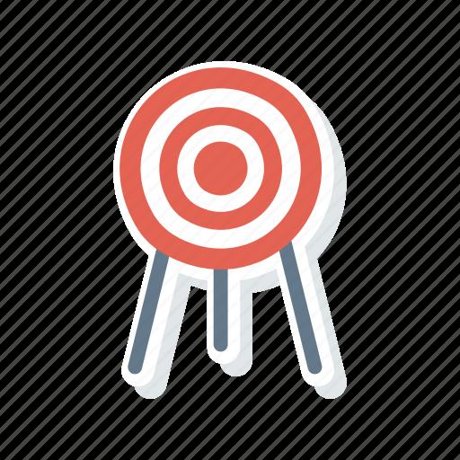 Dartboard, focus, goal, target icon - Download on Iconfinder