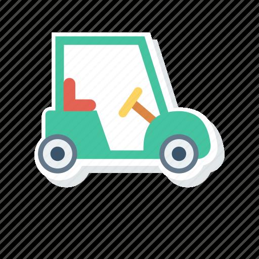 car, golf, transport, vehicle icon