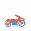 bike, motorbike, scooter, transport icon