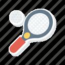 ball, racket, sport, tennis