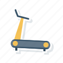 exercise, machine, running, track icon