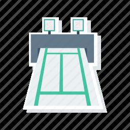 lap, machine, running, track icon