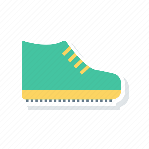 boot, footwear, shoes, skate icon