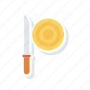 dagger, knief, sword, weapon icon