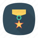 achievement, award, medal, victory icon