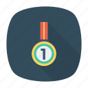 award, medal, prize, rank icon