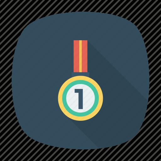 award, medal, prize, rank icon
