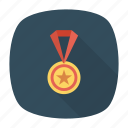 award, medal, prize, star icon