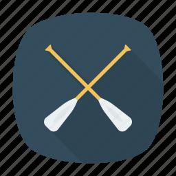 boat, kayak, paddle, ship icon