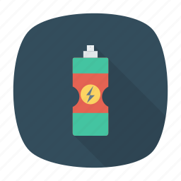 bottle, protiens, vitamins, water icon