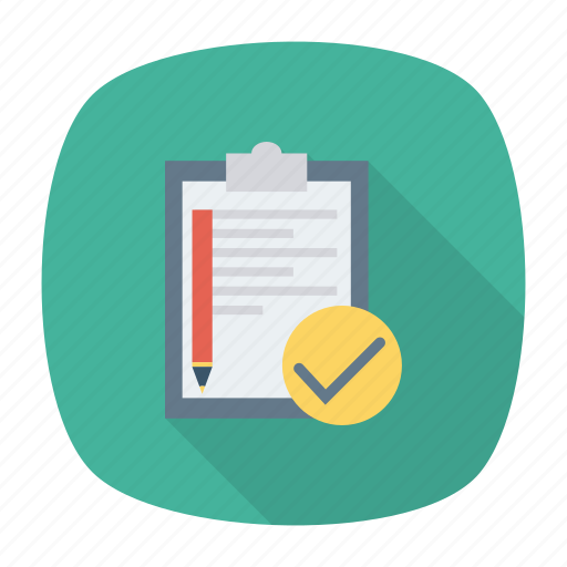 clipboard, edit, list, notes icon