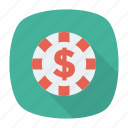 coin, dollar, income, money icon