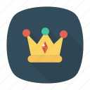 crown, grade, medal, prize icon