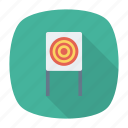 board, dartboard, goal, target icon
