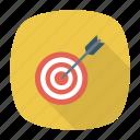 board, darts, goal, target icon