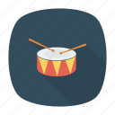 drum, gobletdrum, instruments, music icon