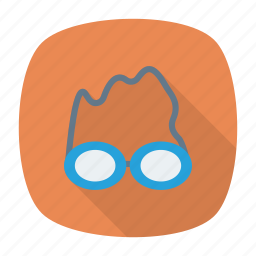 eyewear, glasses, spectacles, swimming icon