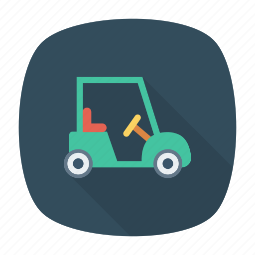 car, golf, transport, vehicle icon