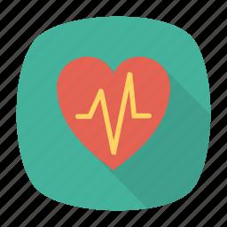 beat, heart, life, pulses icon