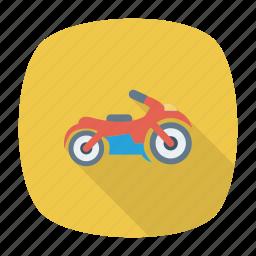 bike, motorbike, scooter, transport icon