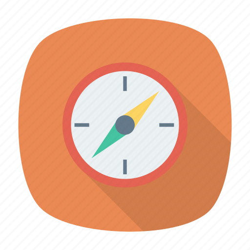 compass, location, navigator, pointer icon