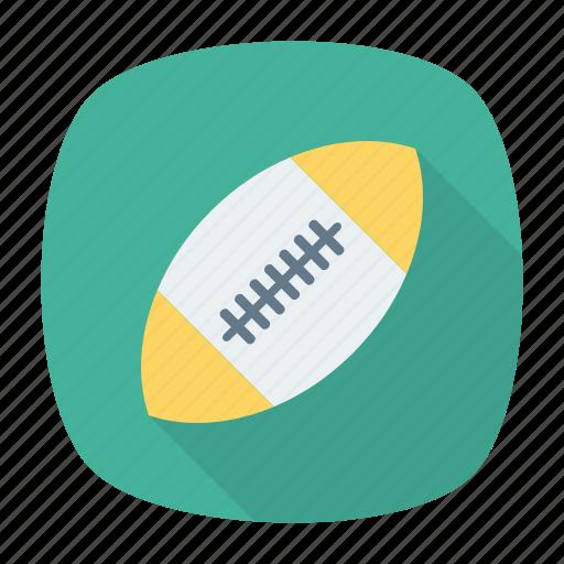 baseball, football, game, rugby icon