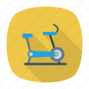 exercise, gym, machine, running icon