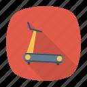 exercise, machine, running, track icon