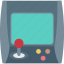 arcade machine, game, game console, game machine, video game icon
