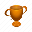 achievement, badge, bronze, leaderboards, prize, trophy, win icon