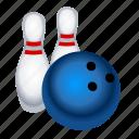 bowling, sports icon