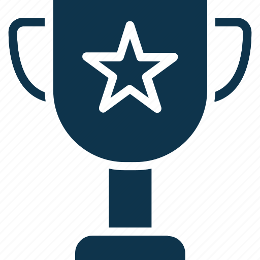 award, prize, star trophy, trophy, winning cup icon