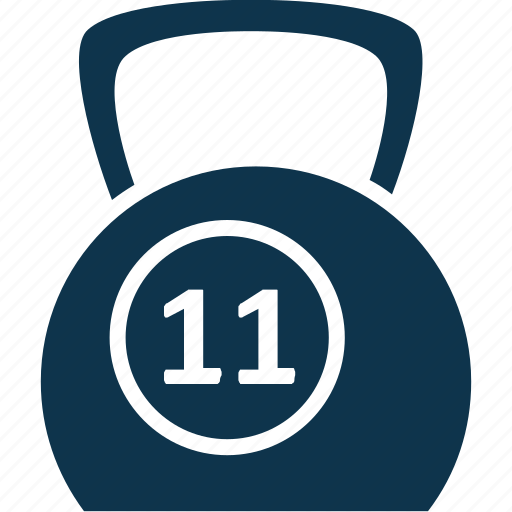exercise, fitness, kettlebell ball, weight ball, weightlifting icon