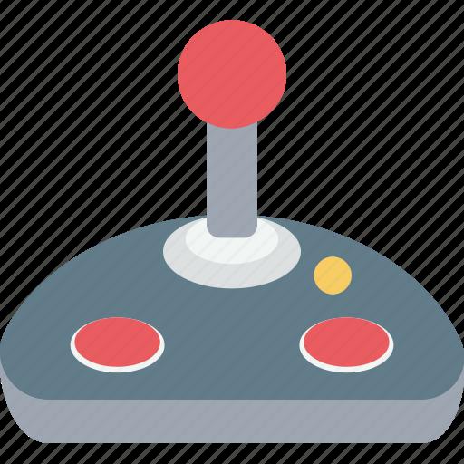 control column, game controller, joystick, playstation, video game icon