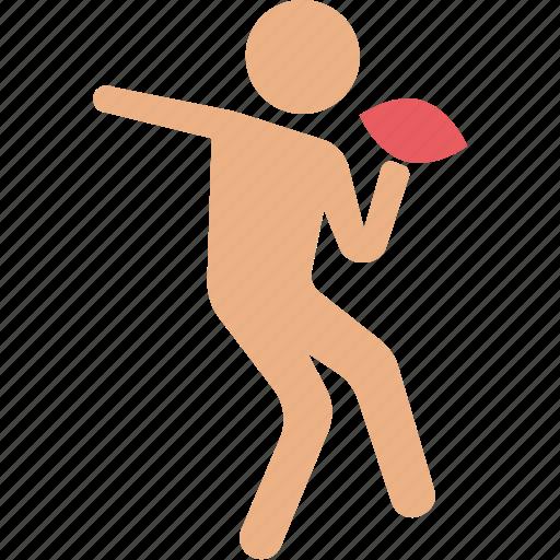 badminton player, player, sportsman, squash player, tennis player icon