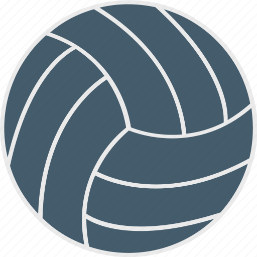 ball, sports, volleyball, volleyball ball, water polo ball icon