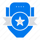 badge, club, emblem, shield, sport
