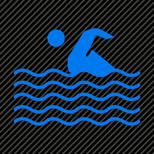 activity, sport, swim, swimming, water icon
