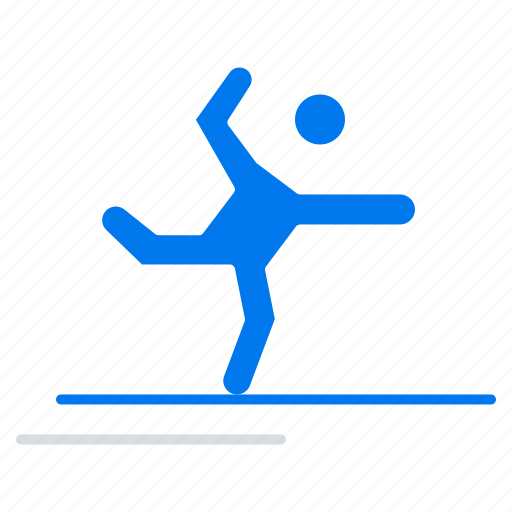 Athlete, gymnastics, performing, stretching icon - Download on Iconfinder