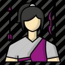 archery, avatar, bow, sports icon