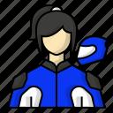 avatar, helmet, racing, sports icon