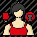 avatar, boxing, gloves, helmet, sports