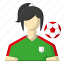avatar, football, soccer, sports icon